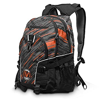 Virtue Wildcard Backpack with Padded Laptop Notebook Compartment – Fits up to 15.4 Inch Laptop – Red