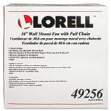 Lorell LLR49256 Wall Mount Fan