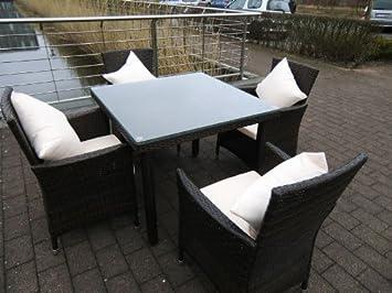 Balkon Möbel Set amazon de 13tlg poly rattan gartenmöbel set gartengarnitur