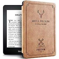 Capa Kindle Deer - Novo Kindle Paperwhite À Prova D Água - Fecho Magnético (TERRA DE SIENA NATURAL)