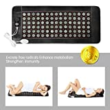 ERSAE far Infrared Heating Pad for Back Neck Shoulder Pain, Feet, Sciatica, Arthritis, Cramp Pain,20 * 45in Natural Jade(Medium) with Smart Controller,Memory Function,Auto Shut Off Timing Setting.