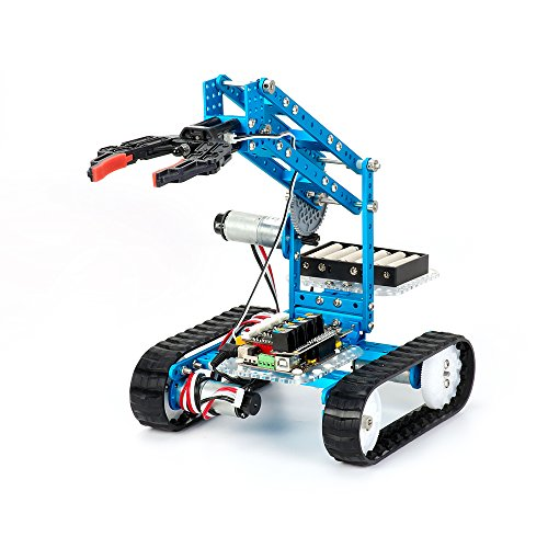 Makeblock DIY Ultimate 2.0 Robot Kit – 10-in-1 DIY Graphical Programming Educational Robot – STEM Education – Arduino – Robotics and Electronics, Programmable Robot Kit for Kids / Children
