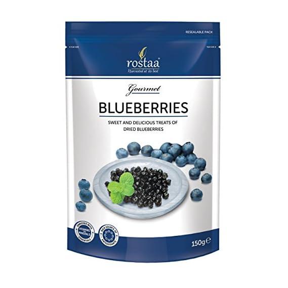 Rostaa Blueberry Sweet and Delicious, 150g (Gluten Free, Non-GMO & Vegan)