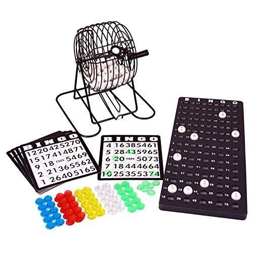 Bingotrommel Lottotrommel Bingo Spiel mit Lotto und vielem Zubehör