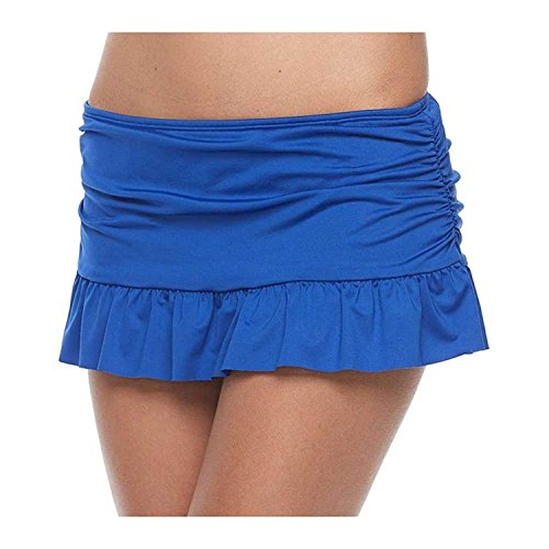 Apt.9 Ruffled Skirtini Bottoms Royal Blue (Small) from Apt 9