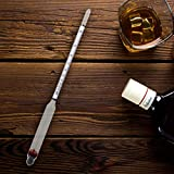 MEOMOU Hydrometer Alcohol Meter 0-200 Proof and