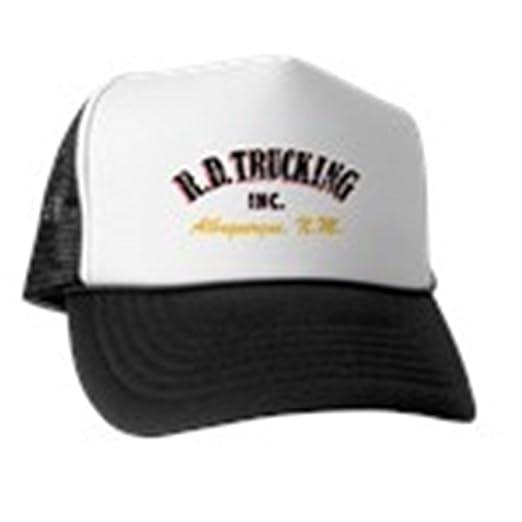 Amazon.com  CafePress - R.D. Trucking 2 Trucker Hat - Trucker Hat ... 412a8a9c08c9