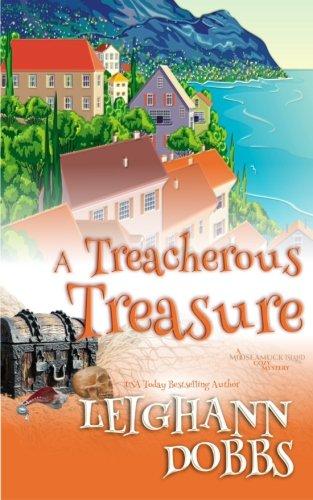 book cover of A Treacherous Treasure