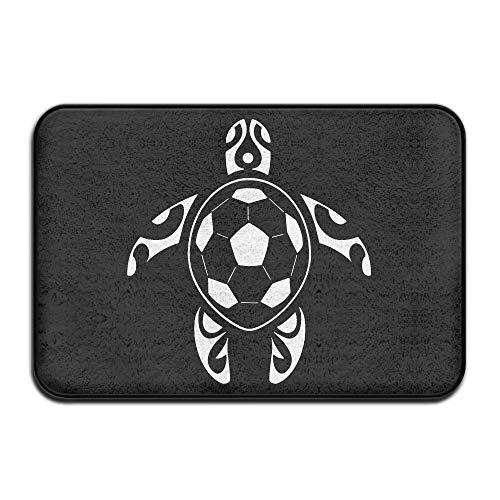 Sea Turtle Soccer Ball1 Anti-skidding Indoor Doormat Kitchen Rug by Mat_Rug&