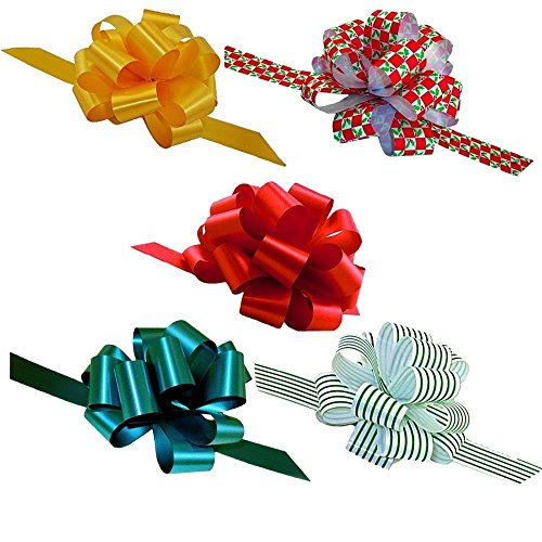 Christmas Gift Pull Bows for Presents - 5