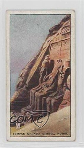 - Temple of Abu Simbel, Nubia COMC REVIEWED Good to VG-EX (Trading Card) 1926 Wills Wonders of the World - Tobacco [Base] #16