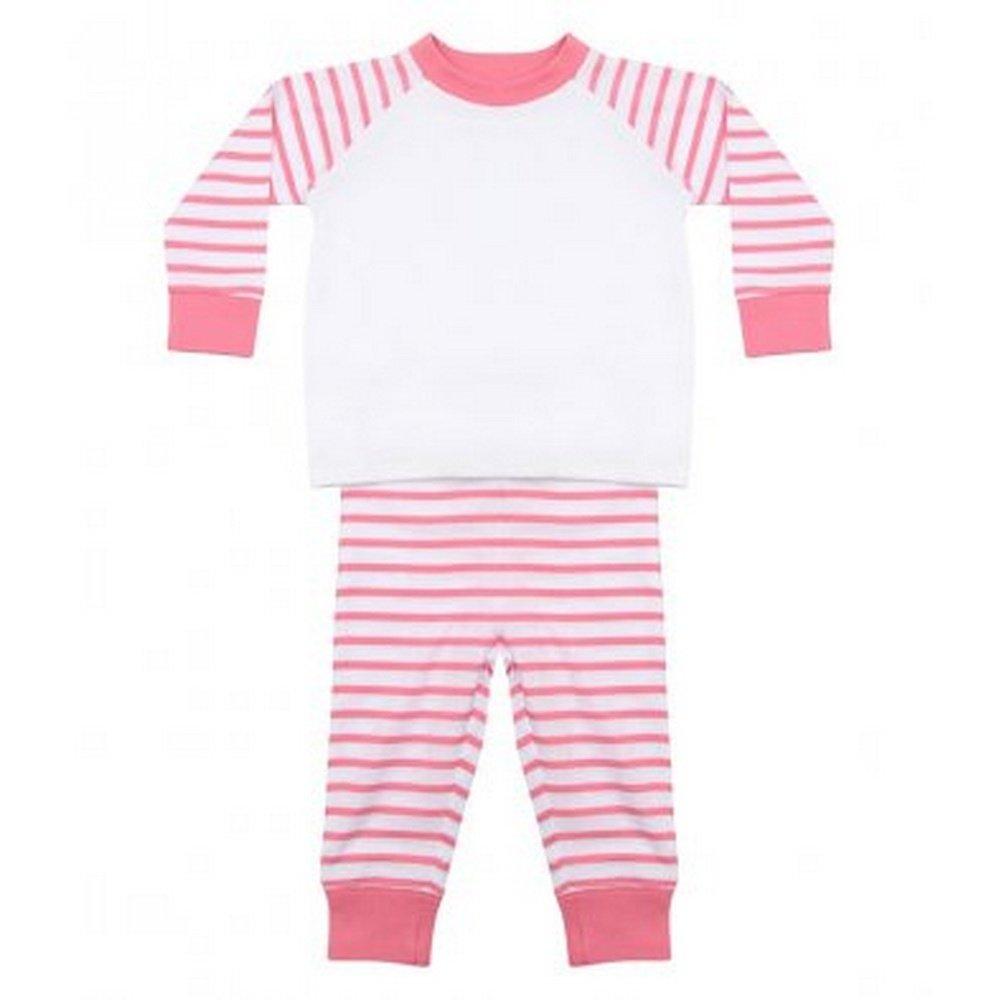 988fea0174 Larkwood Baby Boys Striped Pyjamas  Amazon.co.uk  Clothing