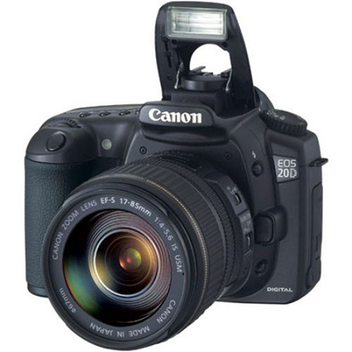 UPC 750845820713, Canon EOS 20D DSLR Camera with EF-S 17-85mm f/4-5.6 IS USM Lens (OLD MODEL)