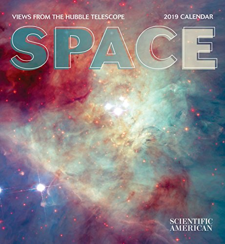 Book cover from Space: Views from the Hubble Telescope 2019 Wall Calendar by Pomegranate Communications Inc.