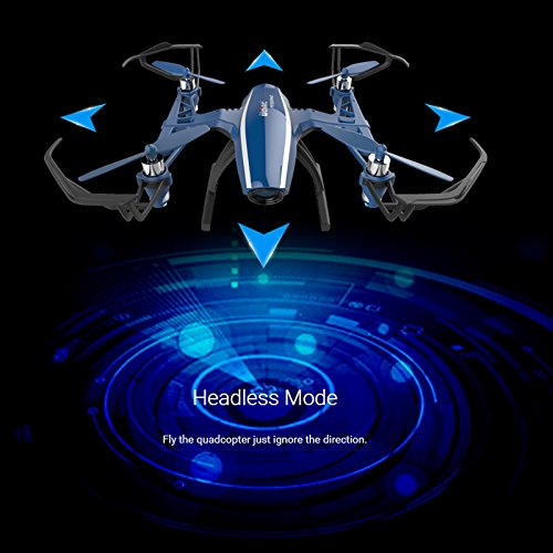 51XAV900%2BKL Cheerwing Peregrine Wifi FPV Drone RC Quadcopter with Wide-angle 720P HD Camera, Altitude Hold and Flight Route Mode, One Key Take Off / Landing, Upgrade Version