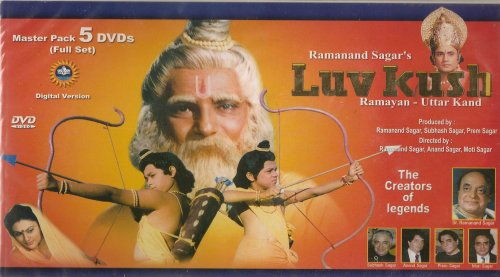 Luv Kush Ramayan-Uttar Kand The Complete Series On 5 Discs