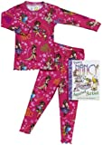 Books To Bed Baby Girls' Fancy Nancy Bag W/Ribbon - Pink - 0-12 Months