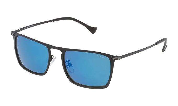 Police SPL15554599B Gafas de Sol, Negro, 55 para Hombre ...