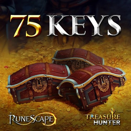 Software (75 Treasure Hunter Keys: RuneScape 3 [Instant)