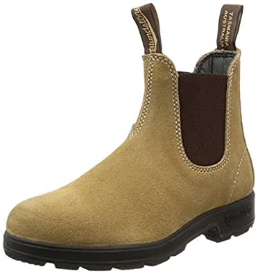 Blundstone Men's Suede Original Series Boot, Sand, 3 UK/4 D US