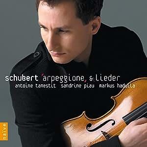 Franz Schubert, Antoine Tamestit, Sandrine Piau, Markus ...