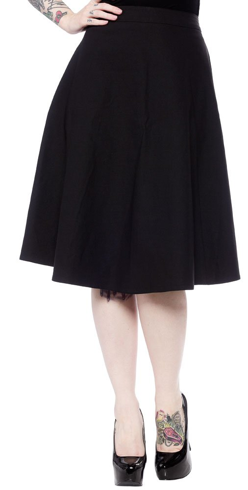 Sourpuss Donna Skirt Black XL