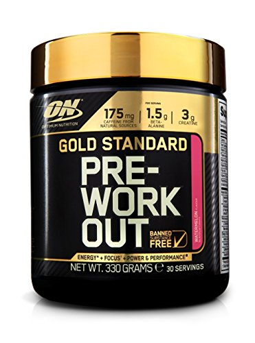Optimum Nutrition Gold Standard Pre Workout Energy Powder Drink with...