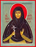 St. Maria Skobtsova Traditional Panel Russian Orthodox icon