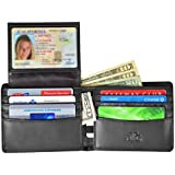 RFID Blocking Wallet for Men - Stylish Genuine Leather Bifold Men's Wallet - Our RFID Wallet uses the best RFID blocking material for your protection - RFID Blocking Passport Sleeve & Gift Box Incl.