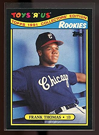 1991 Topps Toysr Us 27 Frank Thomas Chicago White Sox