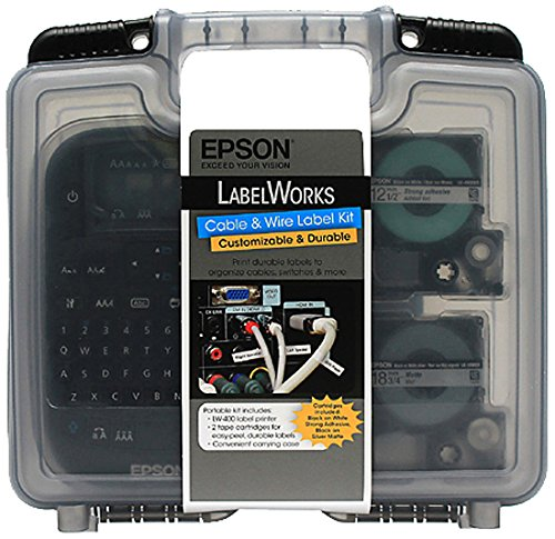 (Epson LabelWorks Cable & Wire Label Kit (C51CB70190))