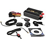 Grikey GPS/GSM/GPRS Vehicle Car Tracker System TK103B +Remote Conctrol