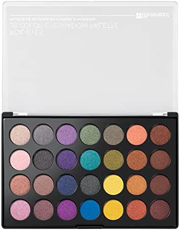 BH Cosmetics Foil Eyes 28 Color Eyeshadow Palette, 0.6 Pound
