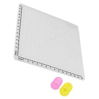 Kesoto - Alfombrilla de silicona para dibujo y diseño de bolígrafo ...