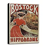 Bostock Hippodrome Framed Print 19.42''x13.11'' by Vintage Apple Collection