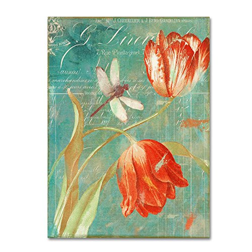 Mandarin Tulips by Color Bakery - floral Wall Art