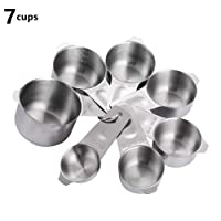 Measuring Cups,Stainless Steel Measuring Cup Food Grade Measuring Cup for Kitchen...