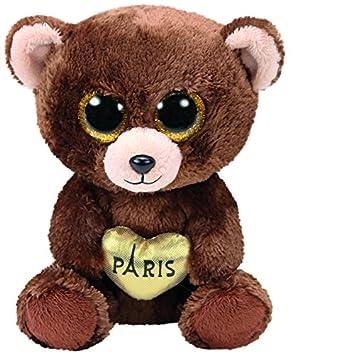 Ty ty36863 – Beanie – Boo s – Oso de Peluche Marrón – Paris