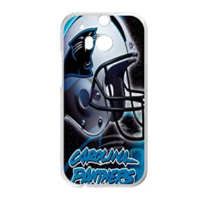 NFL Carolina Panthers Helmet Cell Phone Case for HTC One M8