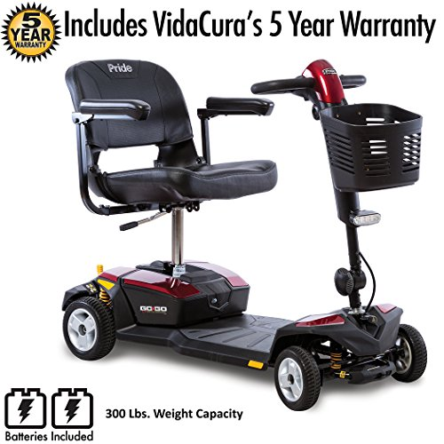 Pride Mobility Go-Go LX CTS Suspension 4-Wheel Scooter 12...