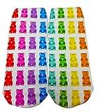 Top Trenz Candy Socks 9 M US Sprinkle