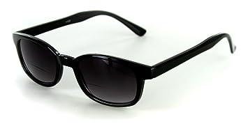 "e87f2b4b43d7 ""Cordoba"" Extra Dark, Vintage Style Bifocal Sunglasses with  Gradient Lens for Stylish"