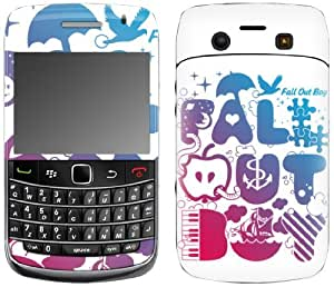 MusicSkins, MS-FOB10043, Fall Out Boy - Icons, BlackBerry Bold (9700), Skin