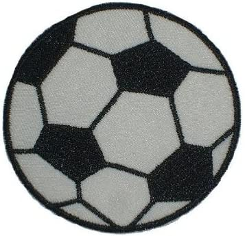 Fútbol 7,5 cm - Plancha de parche applikation - Pelotas de Fútbol ...