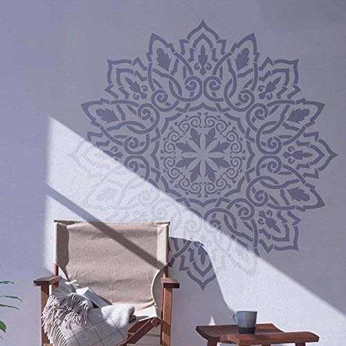 Amazon Com Arabic Mandala Large Wall Stencil For Painting Xl Size