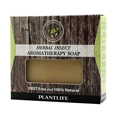 Plantlife Herbal Insect Aromatherapy Soap 113g - 4 oz (Body Shop Tea Tree Set)