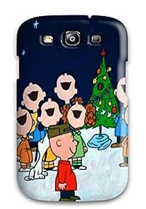 New Arrival FWZwN6197WbjYV Premium Galaxy S3 Case(charlie Brown Christmas)