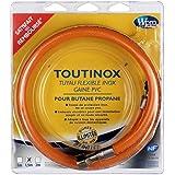 Wpro TBE150 Flexible de Gaz Illimité Toutinox Gaz Butane Propane Gaine Opaque