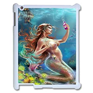 Ipad2,3,4 Mermaid Phone Back Case DIY Art Print Design Hard Shell Protection MN023795
