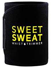 "SIZING Large (Fits waist up to 44"") Medium (Fits waist up to 38"") Small (Fits waist up to 33"")Flexible Custom Fit For Exercising The Sweet Sweat Waist Trimmer was designed to be worn during exercise. The trimmers contoured fit and flexible ne..."